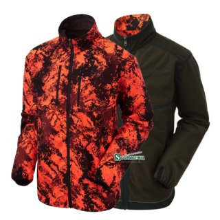 SHOOTERKING - Digitex Softshell 2 in 1 Wendejacke Blaze...